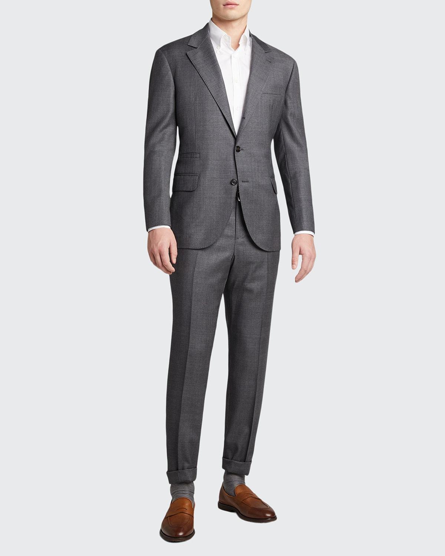 Men's 110s Wool Two-Piece Suit