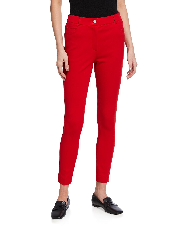 Maren Slim-Leg Jersey Pants