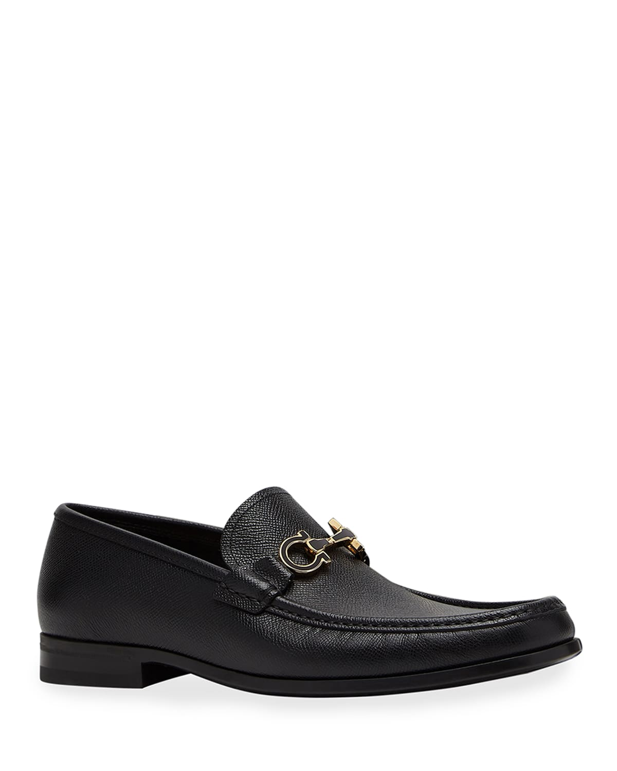 Men's Chris Textured Leather Gancini Loafers