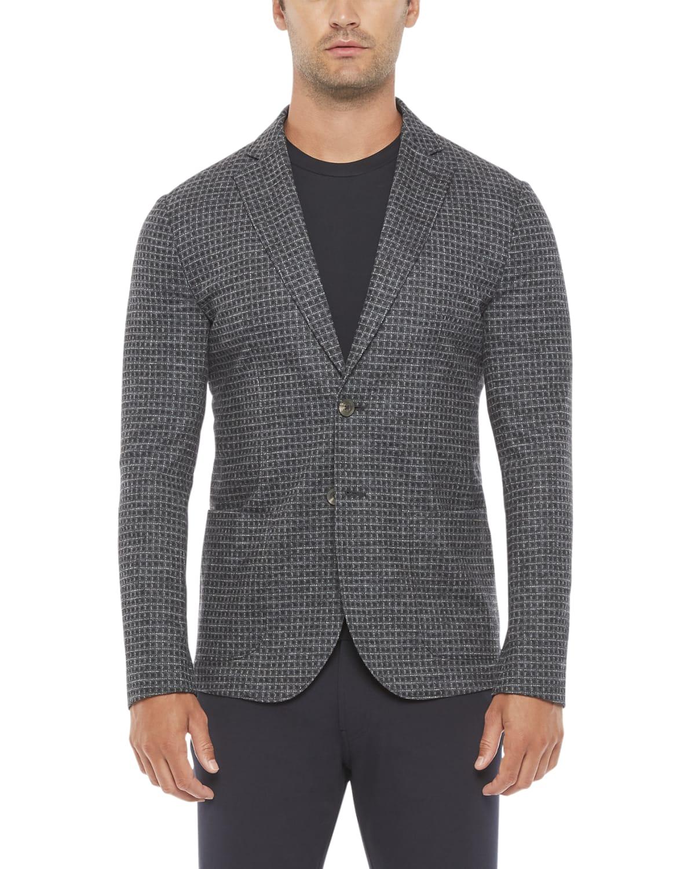 Men's Soft Check Sport Jacket