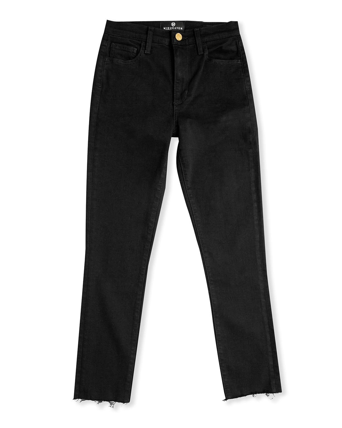 Reign Skinny Jeans with Chewed Hem