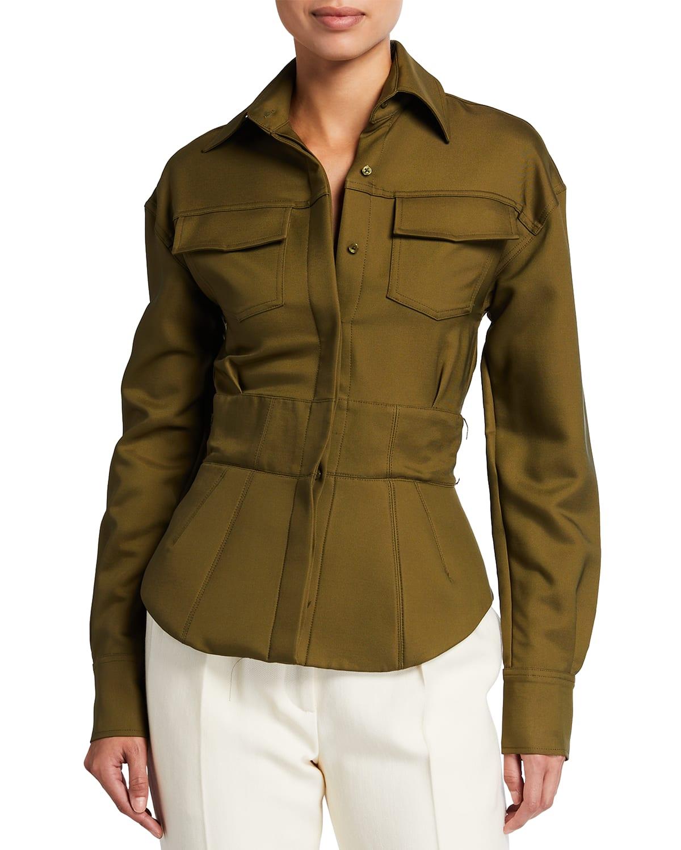 Collared Safari Jacket