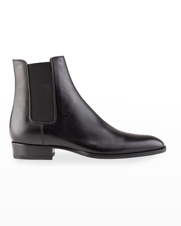 Men's Wyatt 30 Leather Chelsea Boots