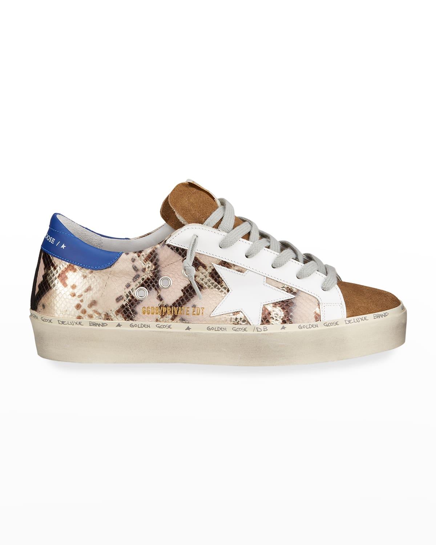 Hi Star Python-Print Sneakers