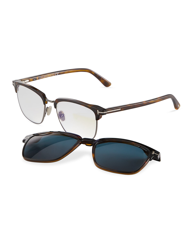 Men's FT5683-BM54 Blue Light Blocking Optical Glasses