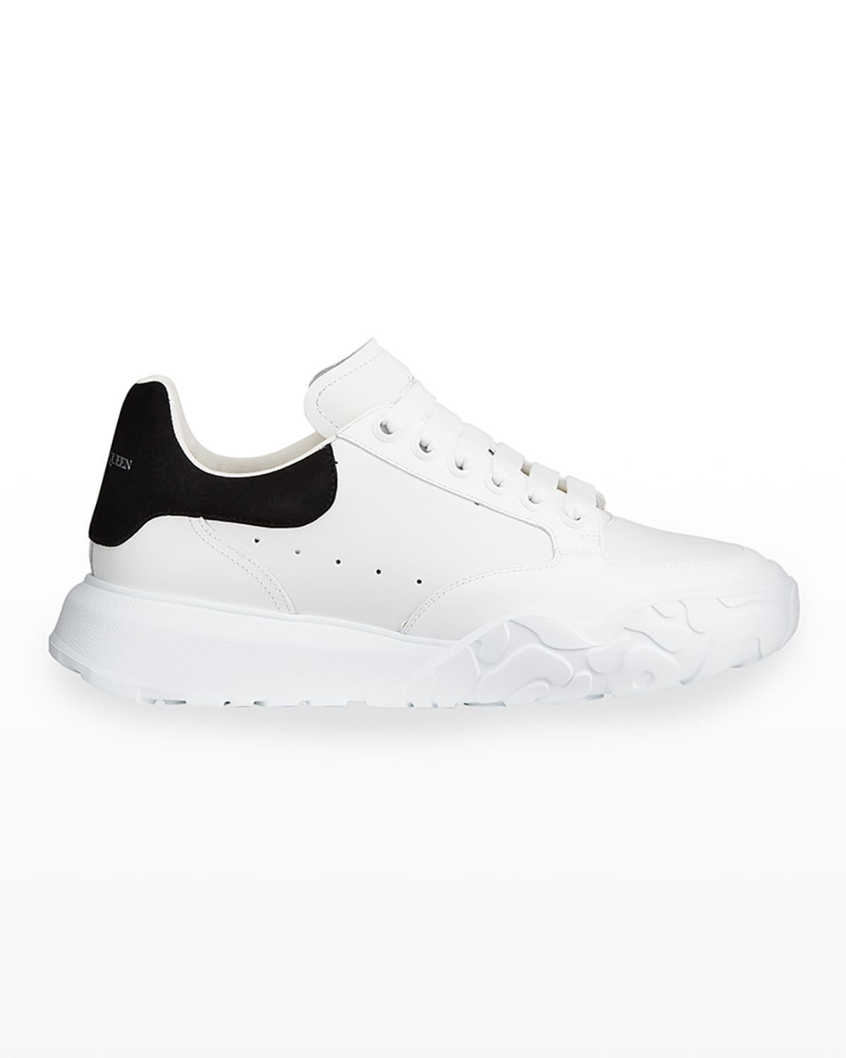 Men's Court Mix Leather Chunky Sneakers