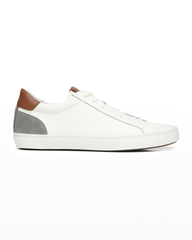 Men's Parker Suede & Leather Low-Top Sneakers