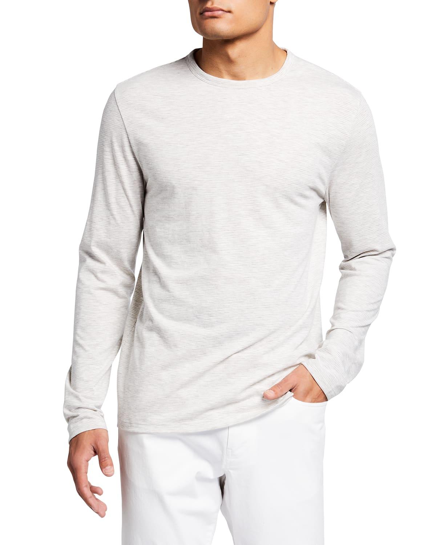Men's Slub Feeder Stripes T-Shirt