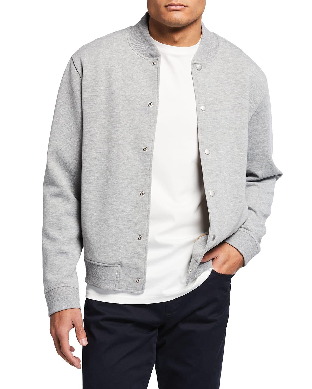 Men's Scuba Knit Bomber Jacket