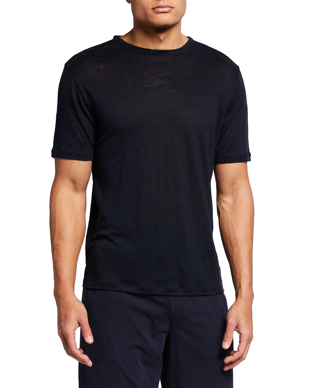 Men's Linen Jersey T-Shirt