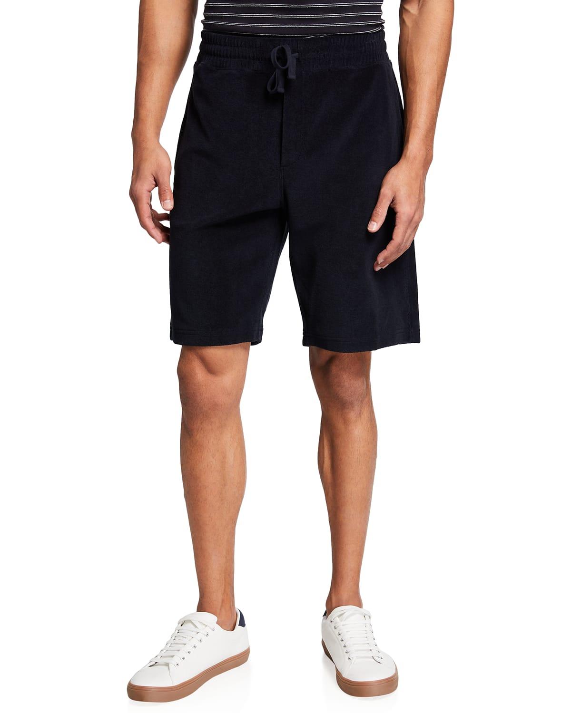 Men's Pima Towel Terry Drawstring Shorts