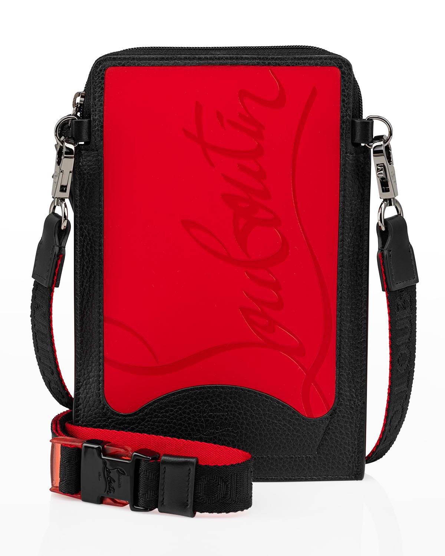 Men's Loubilab Sneakersole Calf Empire Crossbody Bag