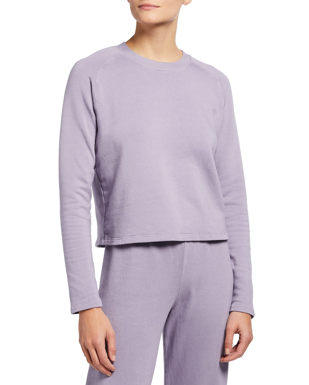 Super Soft Fleece Lounge Sweatshirt