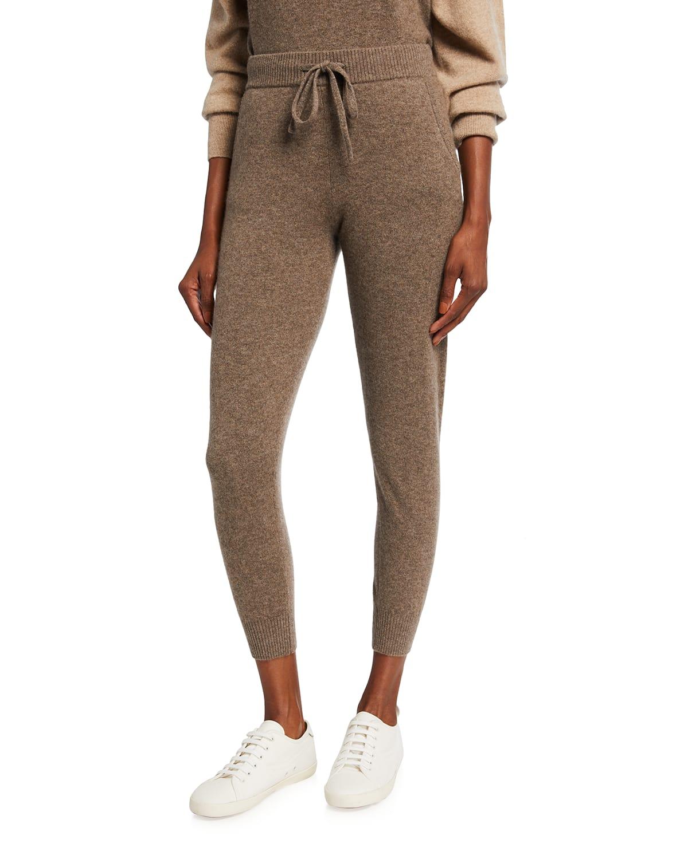 Cashmere-Blend Sporty Sweatpants
