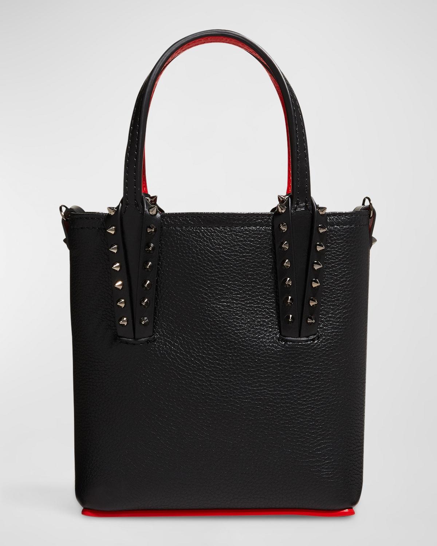 Cabata Empire Leather Spike Mini Tote Bag