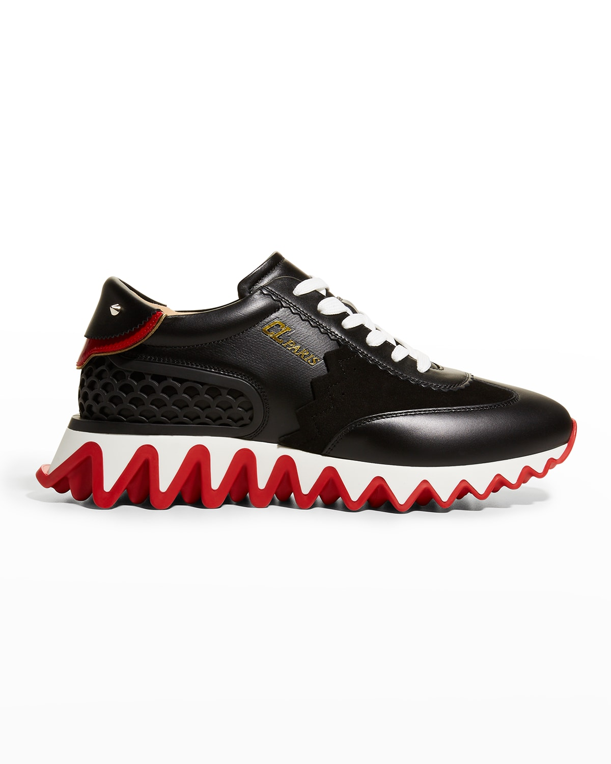 Loubishark Donna Red Sole Runner Sneakers