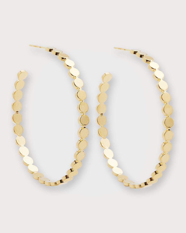 Margaux Medium Hoop Earrings