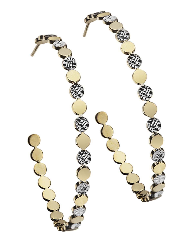Bea Medium Hoop Earrings