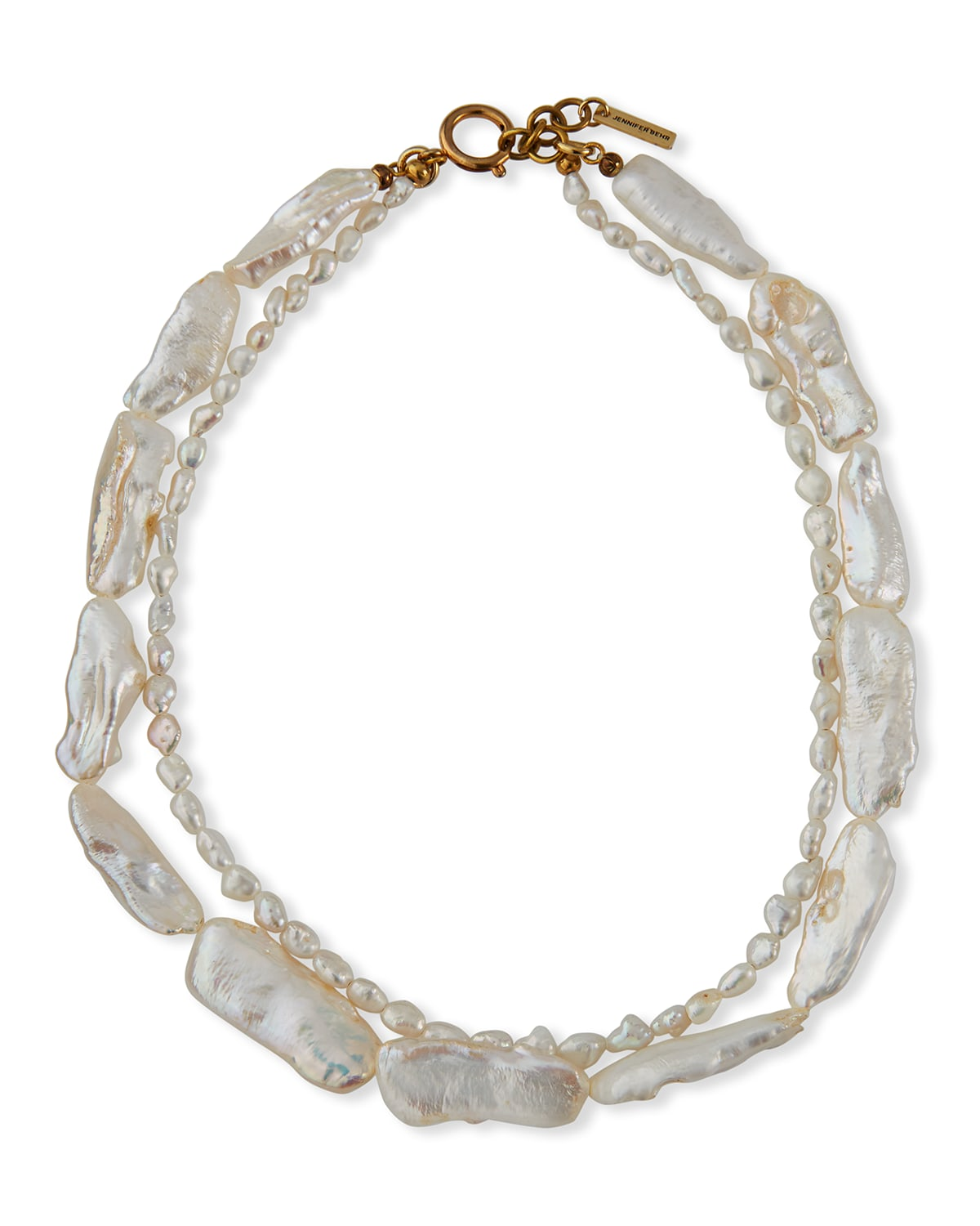 Penny Double Freshwater Pearl Necklace
