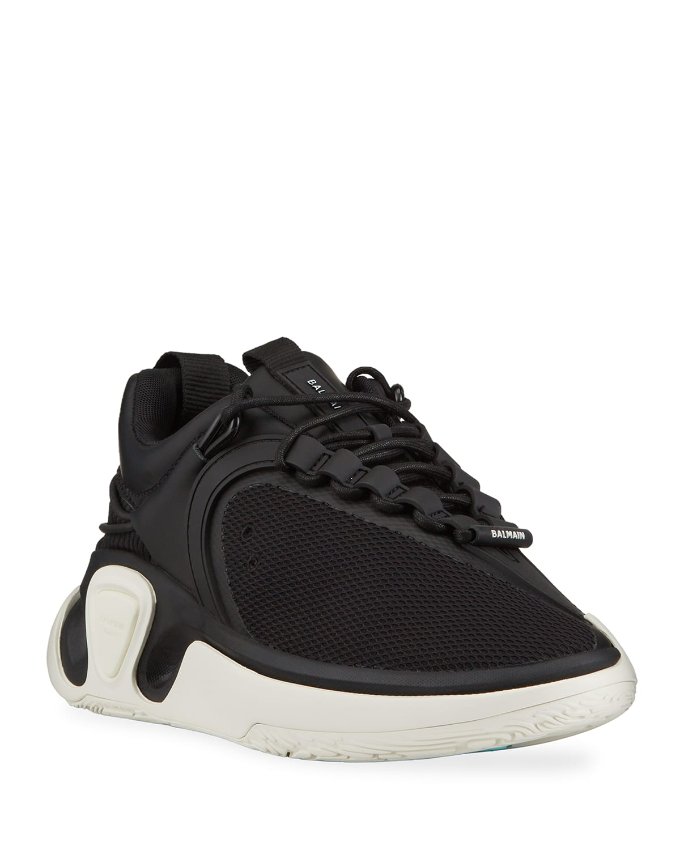Men's B Court T Asymmetric Chunky Sneakers