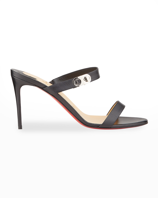 85mm Lock Me Red Sole Stiletto Sandals