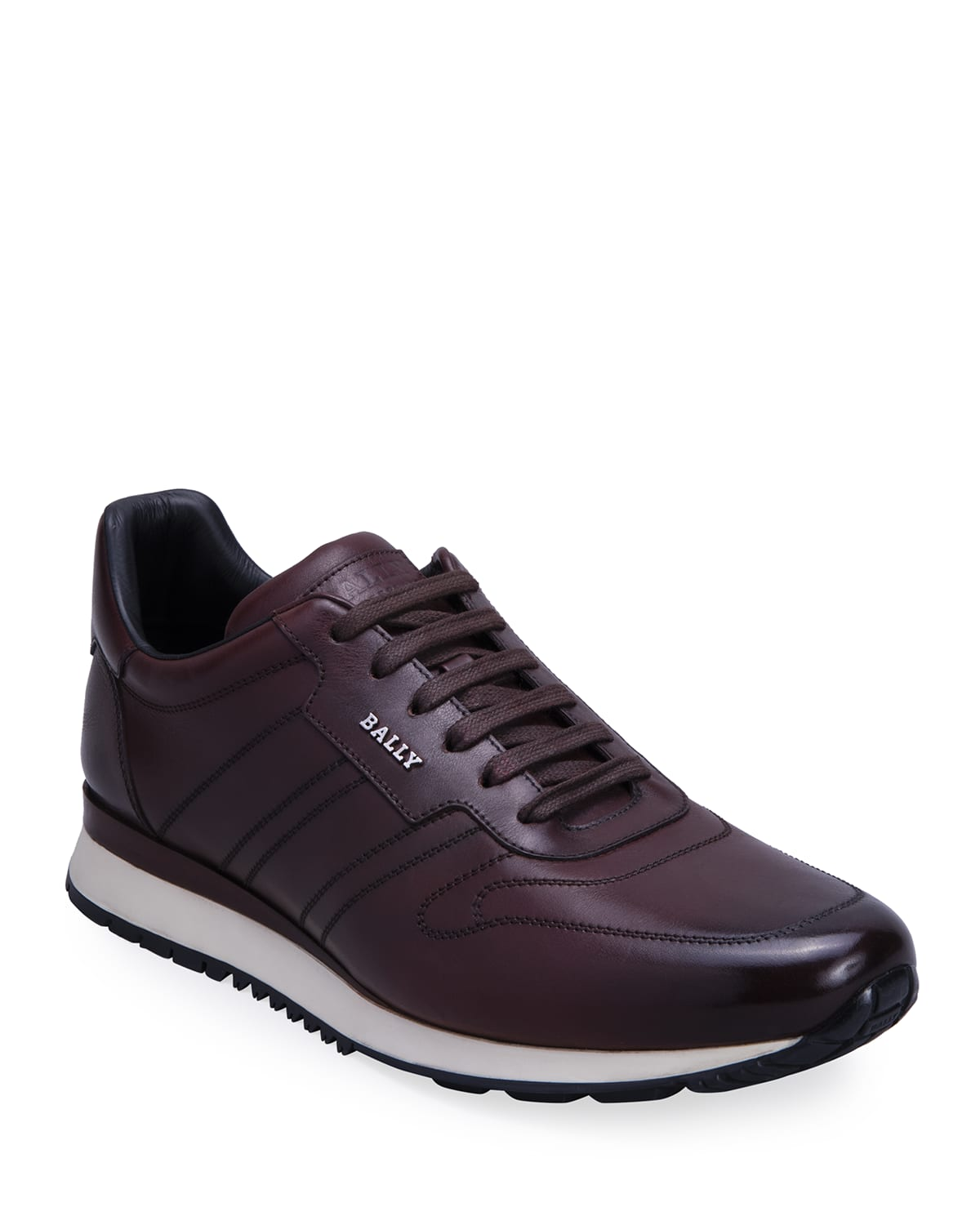 Men's Assio Burnish Leather Sneakers