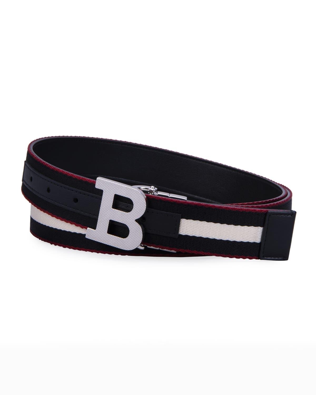 Men's Reversible B-Buckle Belt