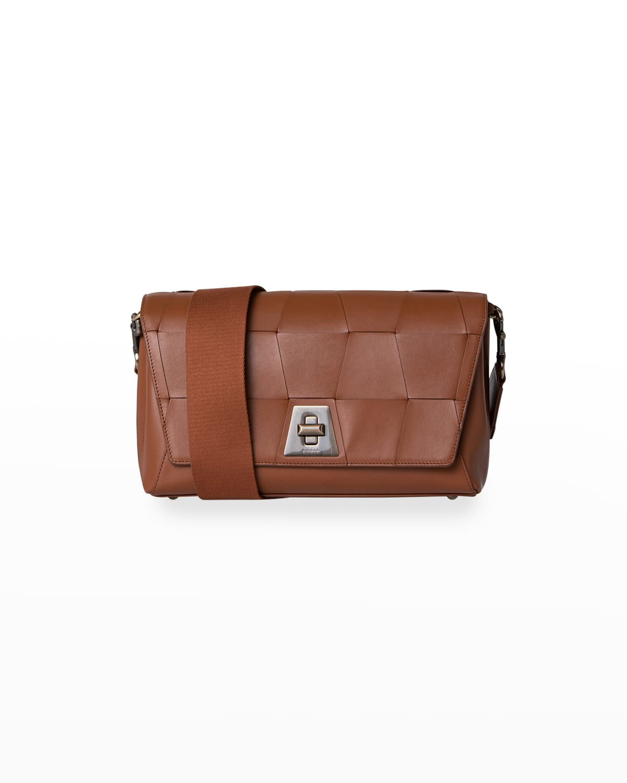 Anouk Medium Braided Shoulder Day Bag