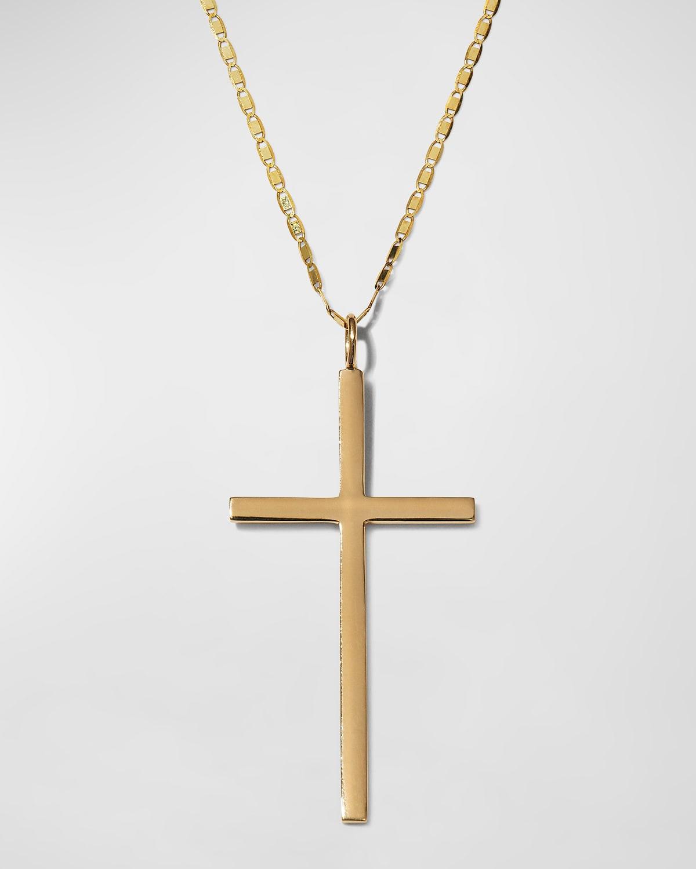 Petite Malibu Cross Amulet Necklace
