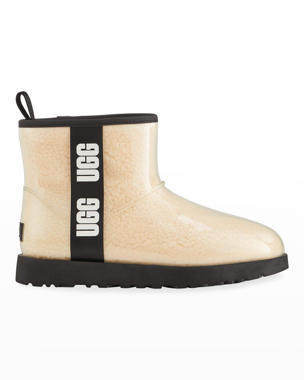 Classic Mini Waterproof Clear Boots