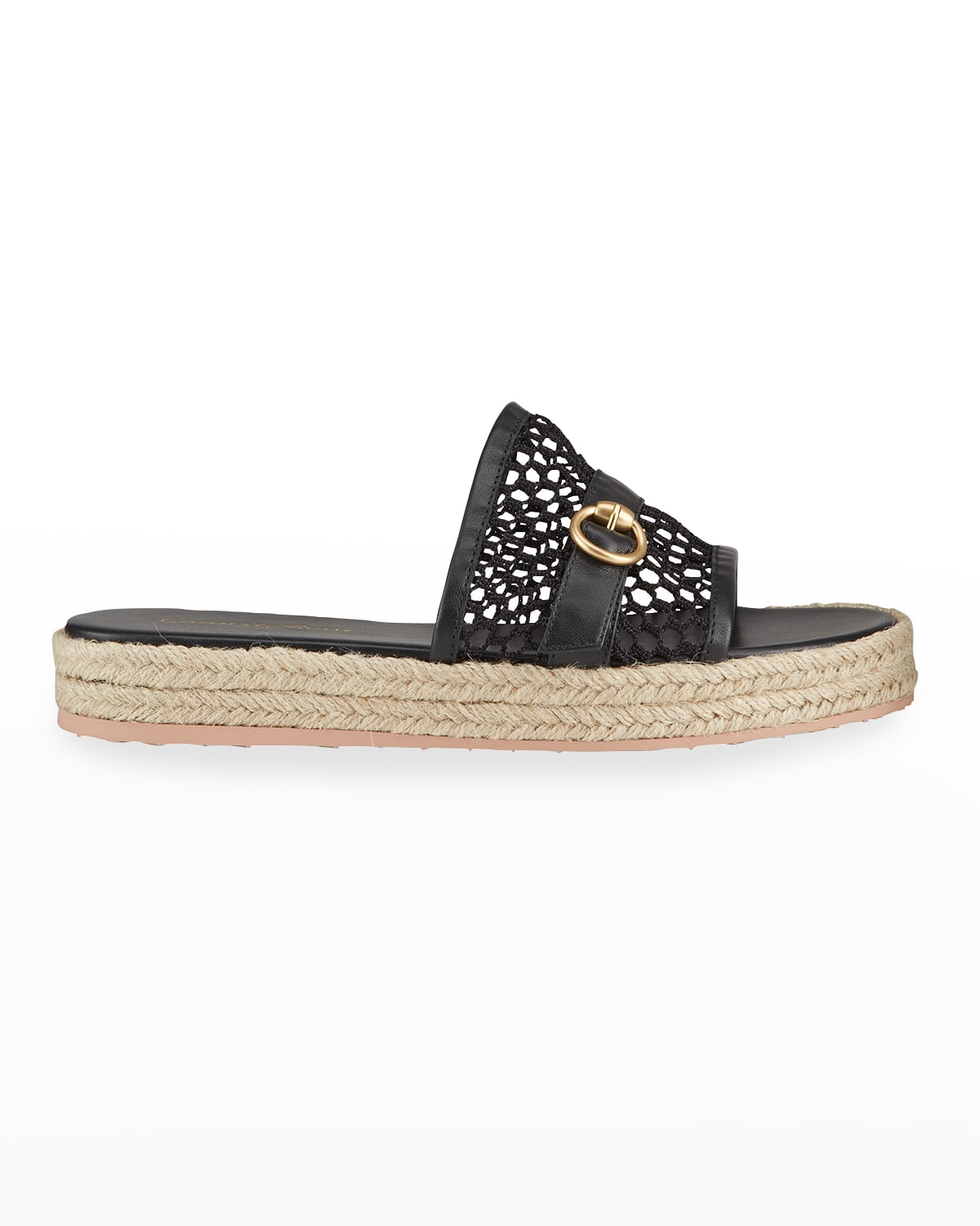 Napa Netted Flat Espadrille Sandals