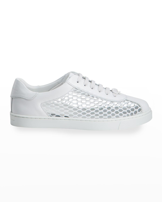 Mesh Net Low-Top Sneakers