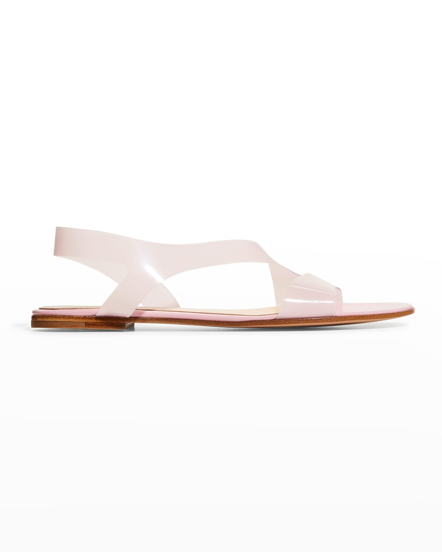 5mm Transparent Flat Sandals
