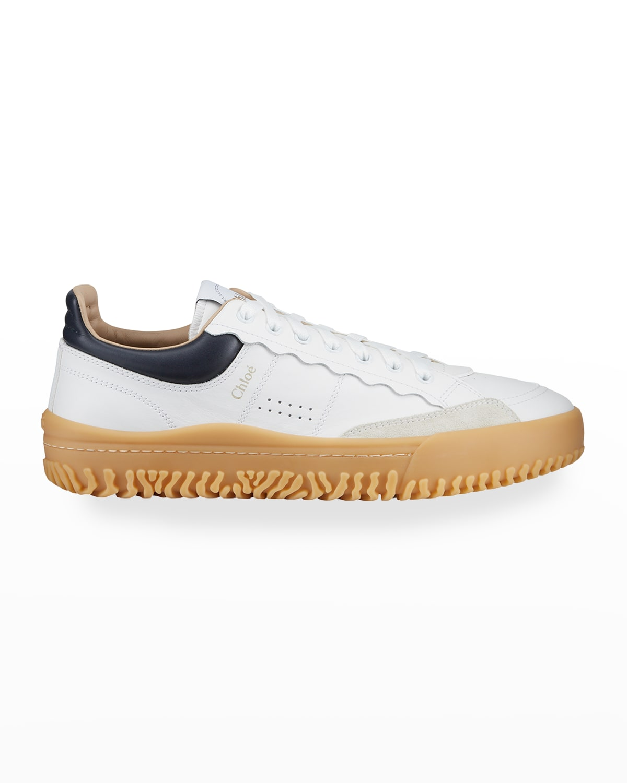 Franckie Bicolor Low-Top Sneakers