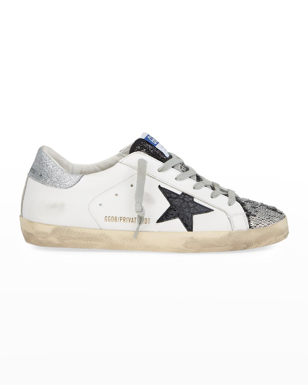 Superstar Sequin Low-Top Sneakers