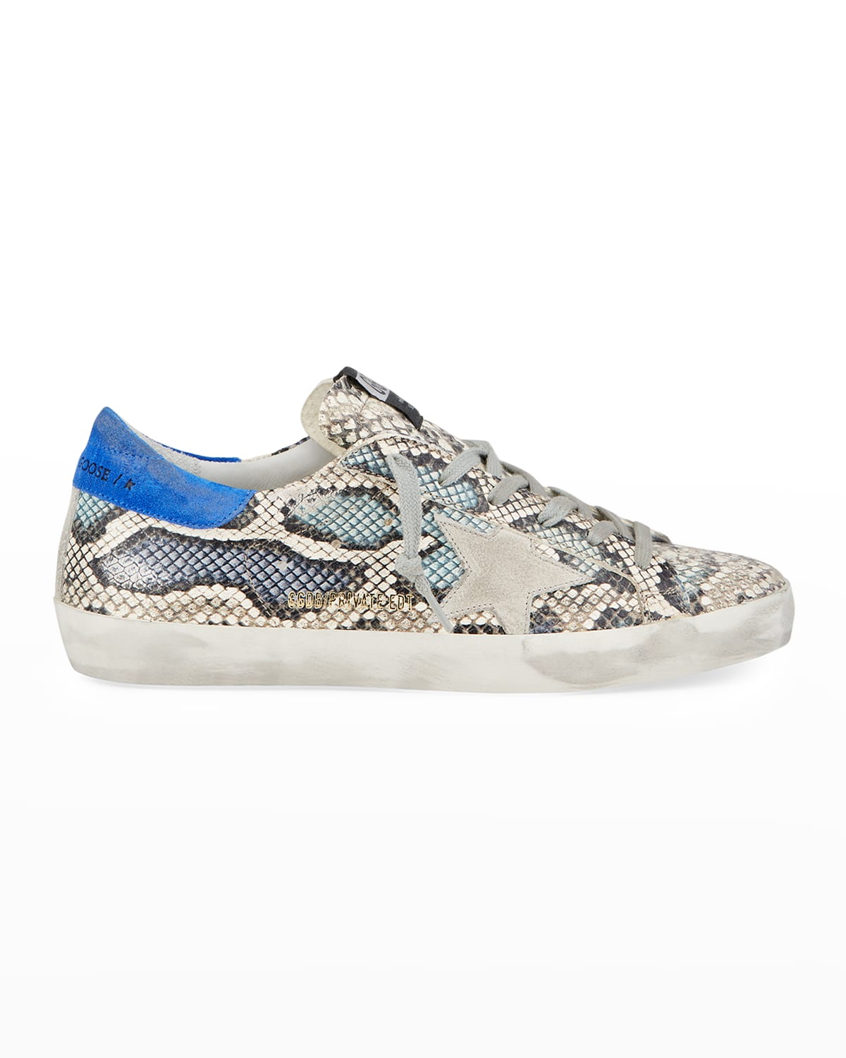 Superstar Multicolor Python-Print Sneakers
