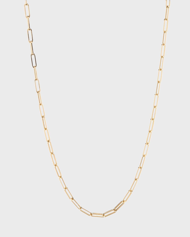 La Seta 14k Rose Gold XS Link Necklace