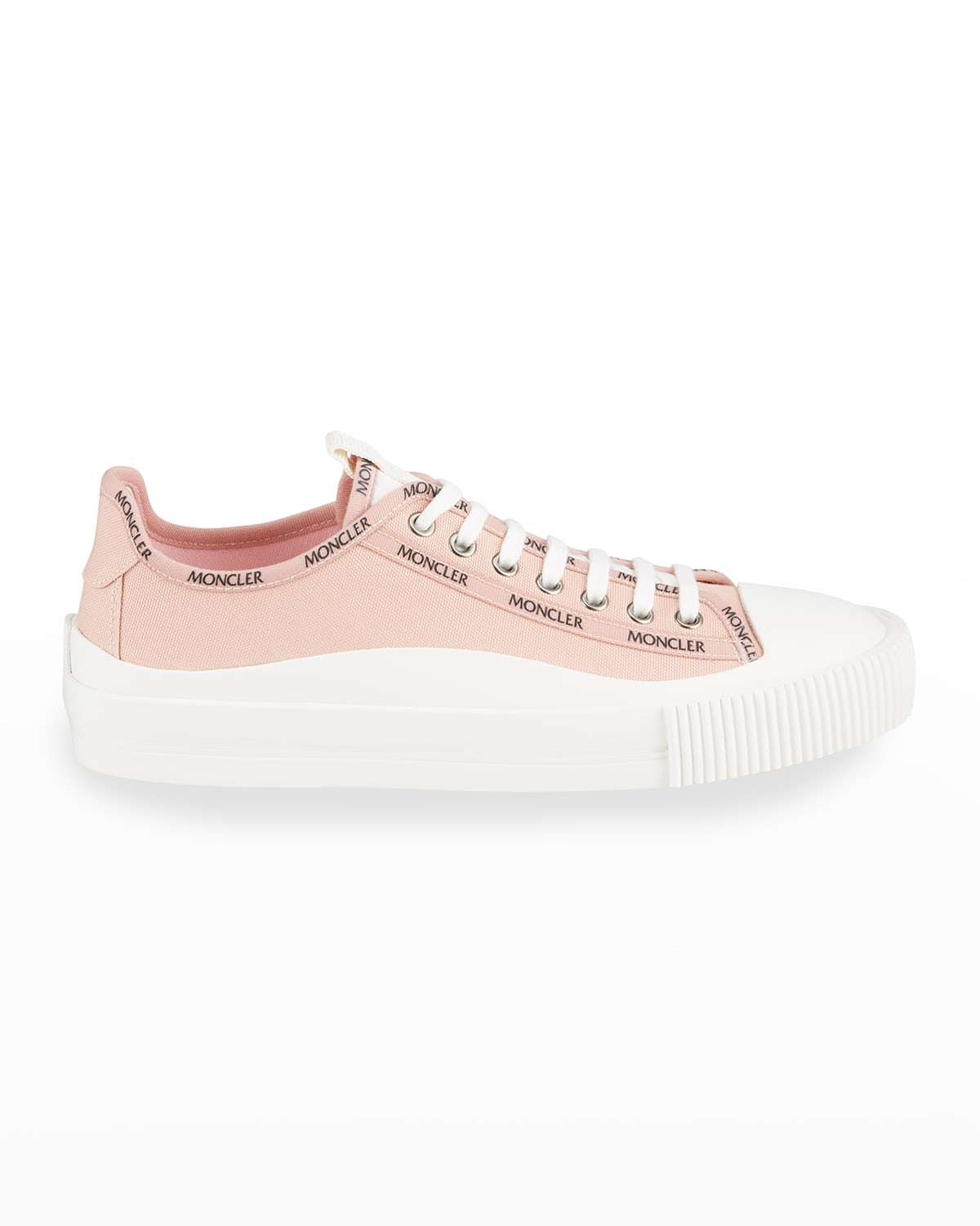 Glisserie Logo Canvas Low-Top Sneakers