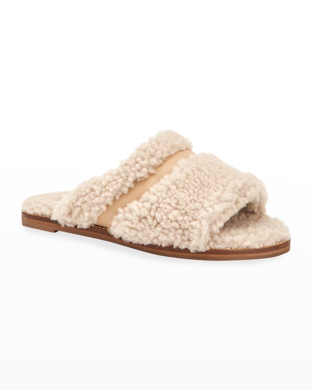Alina Cozy Shearling Slippers