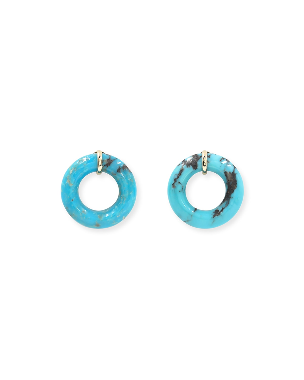 Turquoise Munchkin Earrings