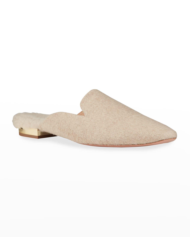 Calma Cashmere Ballerina Slide Mules