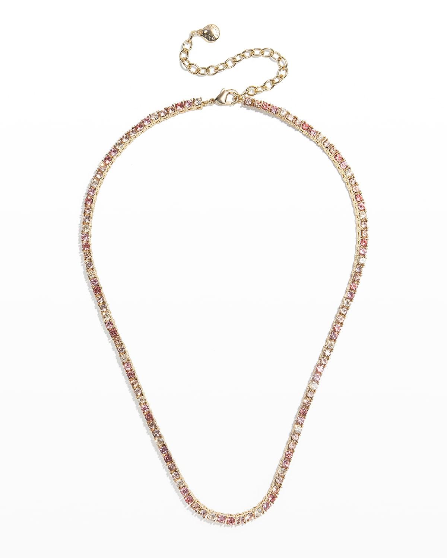 Bennett Crystal Tennis Necklace