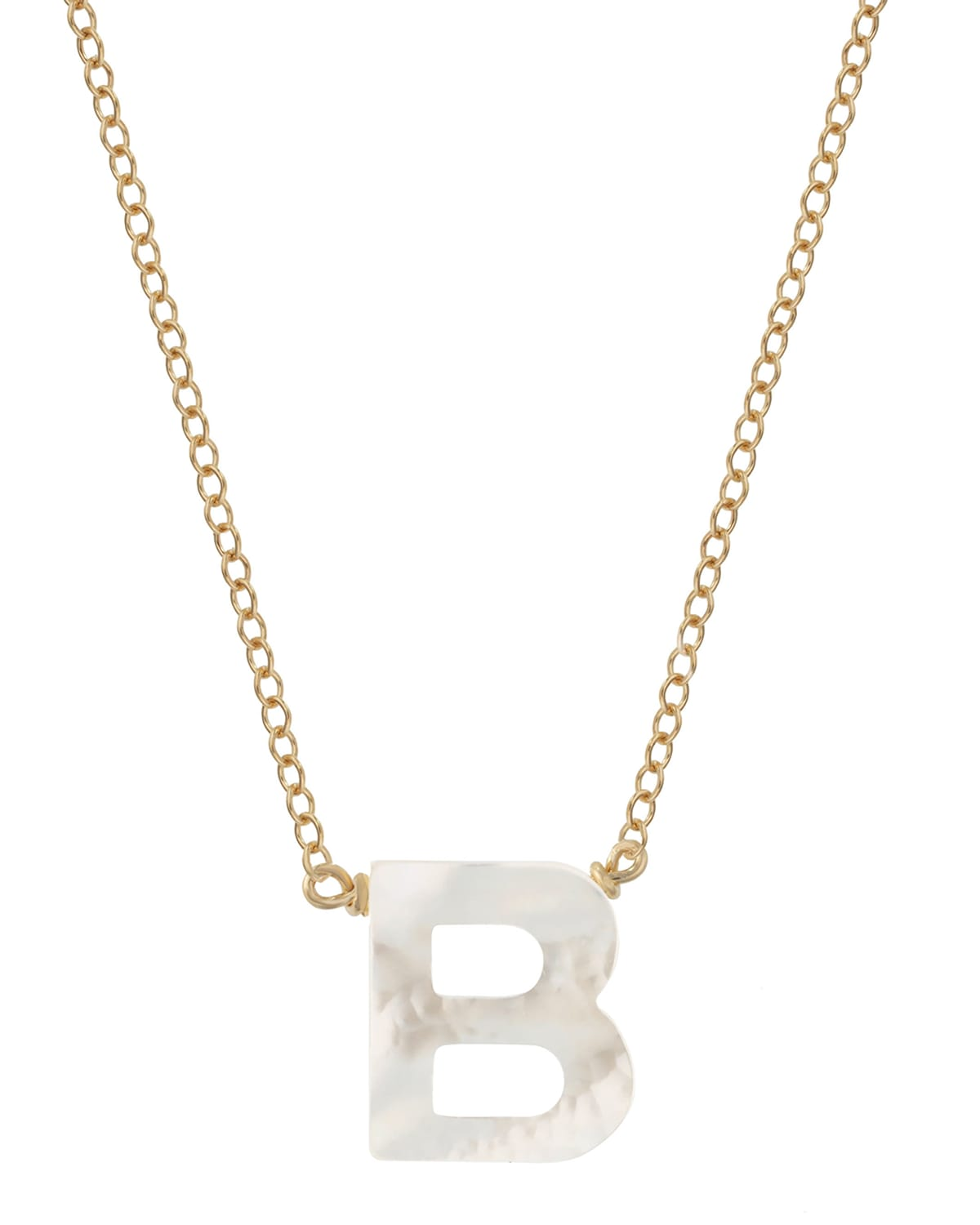 Dawn Initial Pendant Necklace