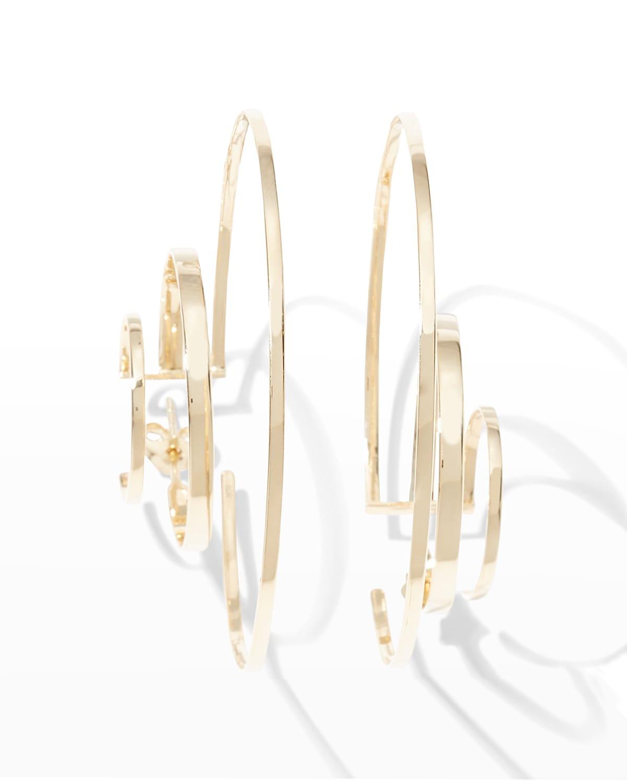 Large Reign Hoop Earrings