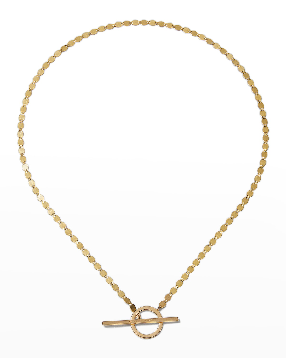 Toggle Nude Chain Necklace