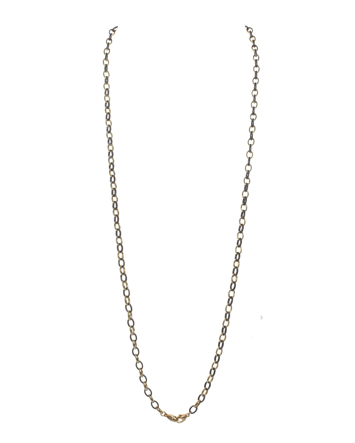 Vermeil and Sterling Silver Mask Chain/Necklace