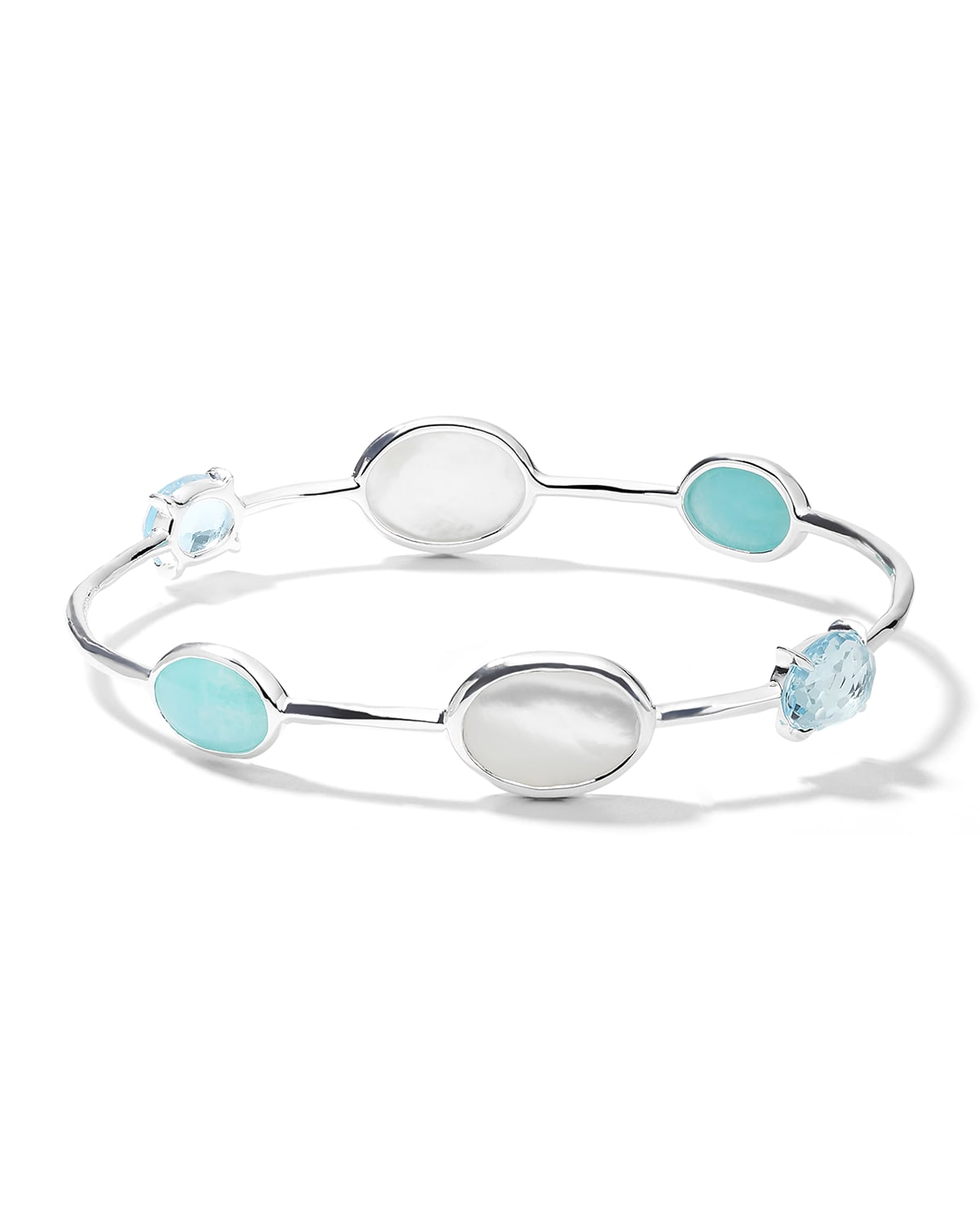 Rock Candy Luce 6-Stone Bangle in Cascata