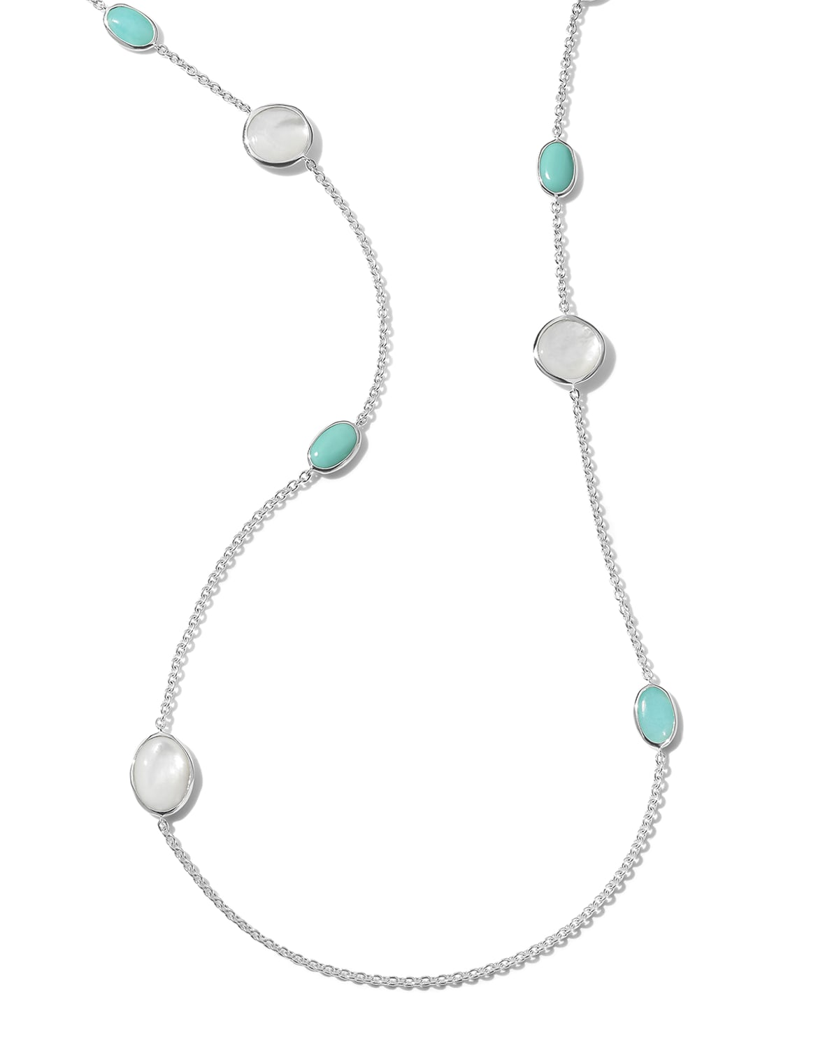 Rock Candy Luce 10-Stone Long Necklace in Cascata