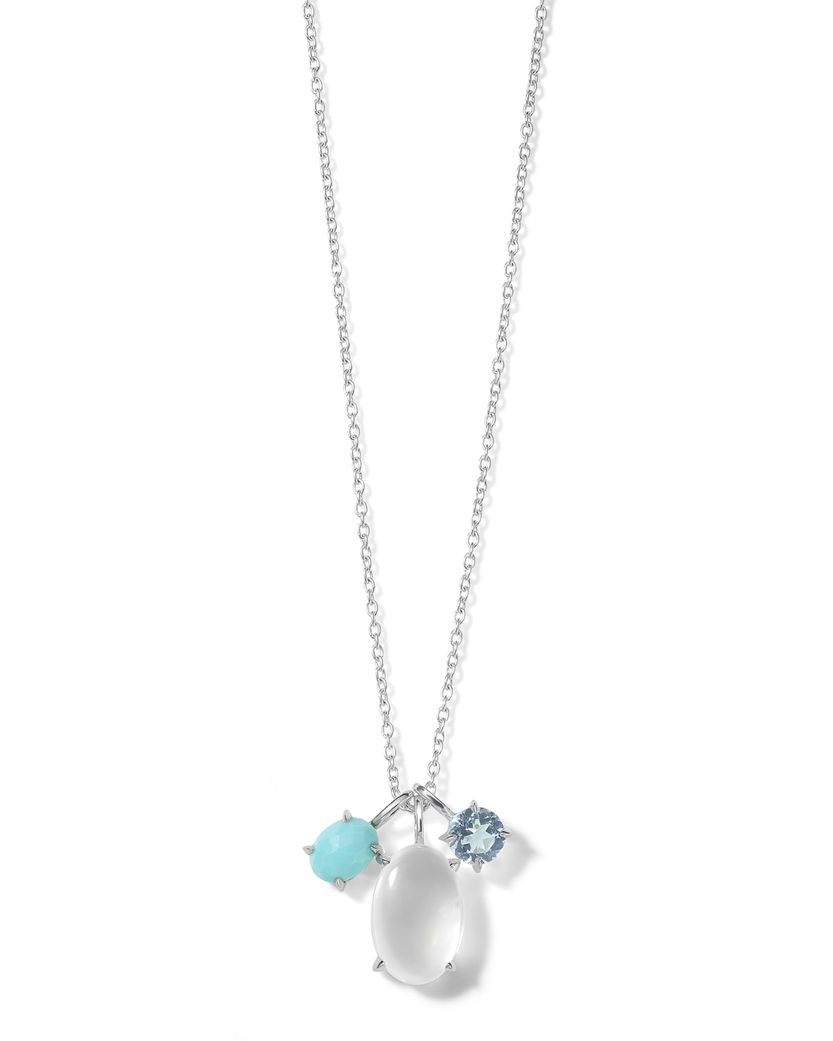 Rock Candy Luce 3-Pendant Necklace in Cascata