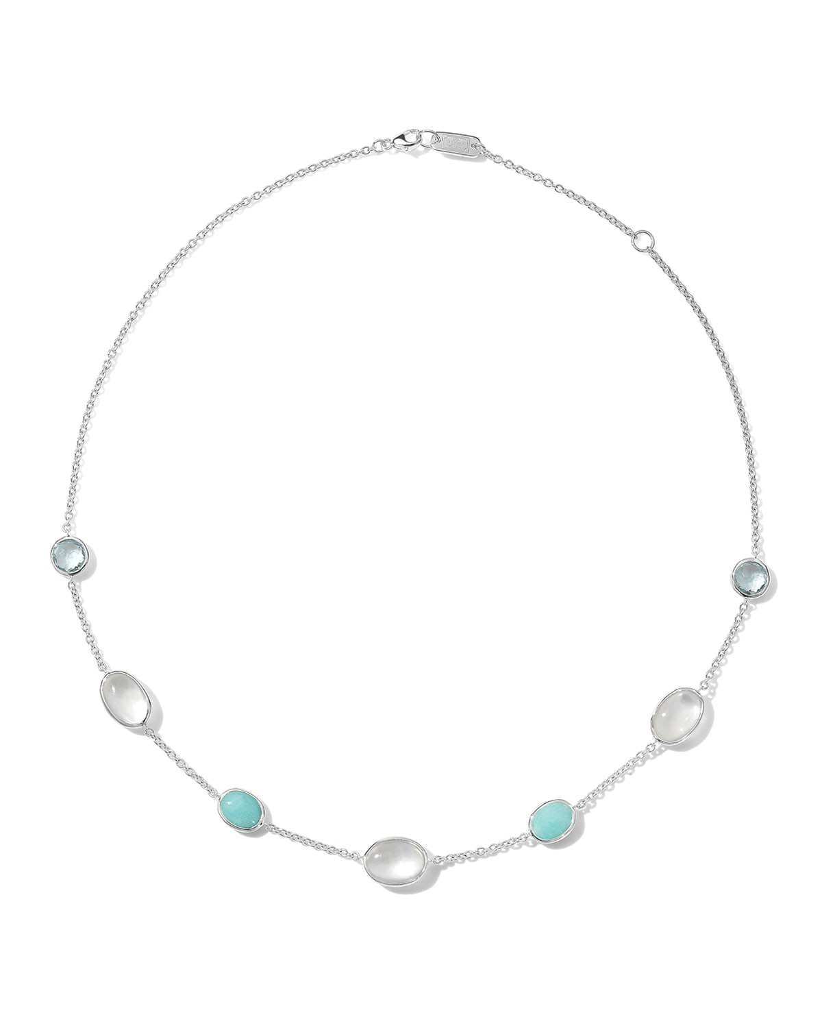 Rock Candy Luce 7-Stone Chain Necklace in Cascata
